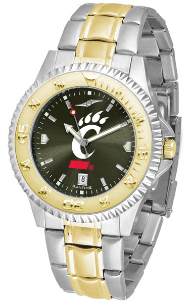 Cincinnati Bearcats Men's Competitor Two-Tone AnoChrome Watch