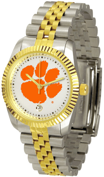 Clemson Tigers Ladies Executive AnoChrome Watch | SunTime | ST-CO3-CLT-MEXT