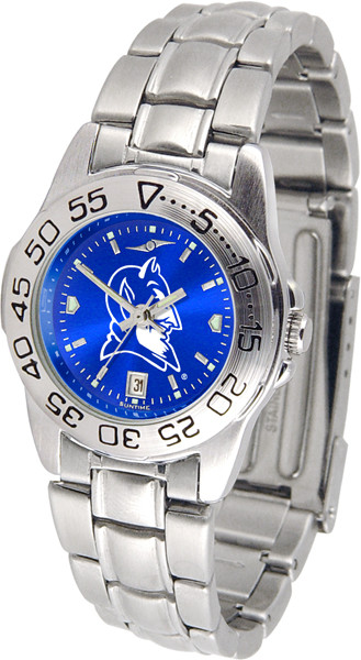 Duke Blue Devils Ladies Sport Steel AnoChrome Watch