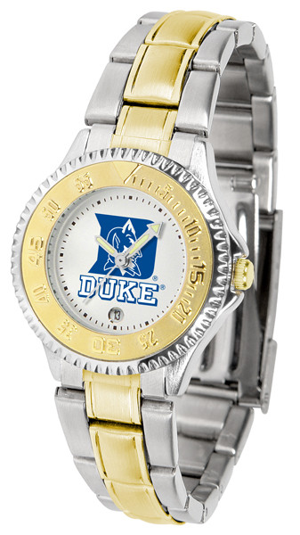 Duke Blue Devils Ladies Competitor Two-Tone Watch