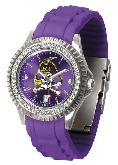 East Carolina Pirates Ladies Sparkle Watch