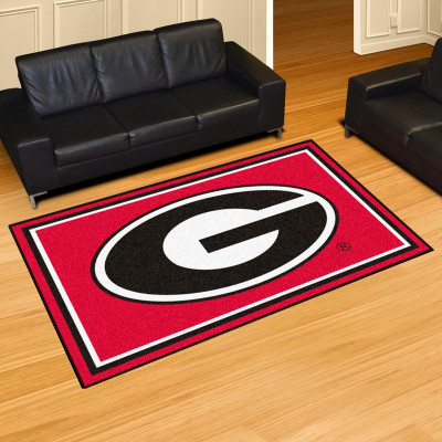Georgia Bulldogs Area Rug 5' x 8'