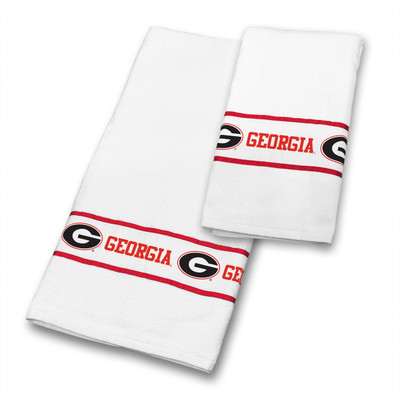 Georgia Bulldogs Bath Towel Set
