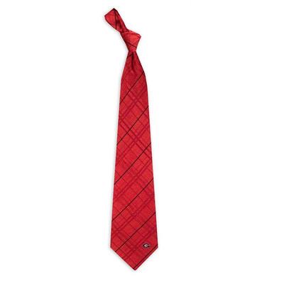Georgia Bulldogs Oxford Woven Silk Tie