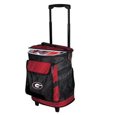 Georgia Bulldogs Rolling Cooler