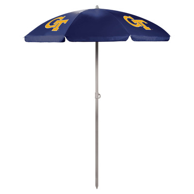 Georgia Tech Yellow Jackets Beach Umbrella