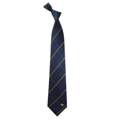 Georgia Tech Yellow Jackets Oxford Woven Silk Tie