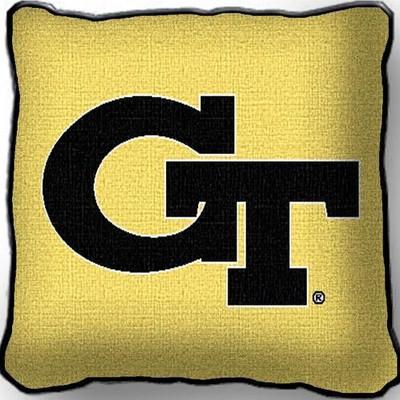 Georgia Tech Yellow Jackets Throw Pillow