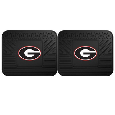 Georgia Bulldogs Utility Car Mats Set of Two