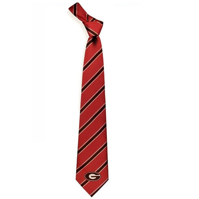 Georgia Bulldogs Woven Poly Tie