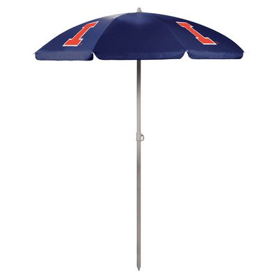 Illinois Fighting Illini Beach Umbrella