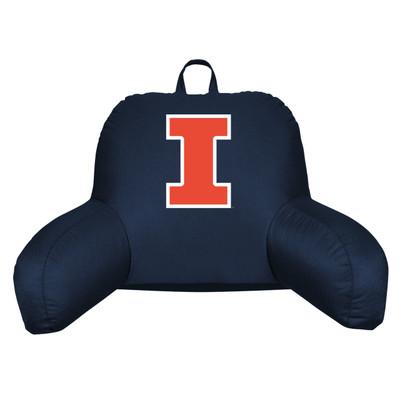 Illinois Fighting Illini Bedrest Pillow