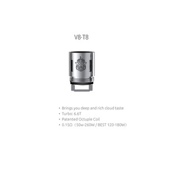 Wholesale 100% Authentic Smoktech TFV8 V8 T8 Sub-Ohm Replacement Coils 3 Pack (0.15 OHMS) Wholesale Vapor Wholesale | KangerWholesaleUSA.com America's Premier E Cig and Vape Distributor | Lowest Priced E Cig Wholesaler in USA | Cheapest Vape Wholesale in USA | E Juice Wholesale | E Liquid Wholesale | E Juice | E Liquid | Vape Wholesale | Vapor Wholesale | E Cig Wholesale | Cheap Vape Kits | Vape Deals | Wholesale | Distributor | Vape USA | SMOK E Cig Wholesale | Smoktech TFV8 V8 T8 Sub-Ohm Coils Wholesale | SMOK E Cig Cheap | SMOK Wholesale Vapes USA | SMOK Vapor | SMOK US | SMOK USA Wholesale | SMOKTECH | SZ SMOK Technology | SMOKTECH TECHNOLOGY