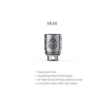 Wholesale 100% Authentic Smoktech TFV8 V8 X4 Sub-Ohm Replacement Coils 3 Pack (0.15 OHMS) Wholesale Vapor Wholesale | KangerWholesaleUSA.com America's Premier E Cig and Vape Distributor | Lowest Priced E Cig Wholesaler in USA | Cheapest Vape Wholesale in USA | E Juice Wholesale | E Liquid Wholesale | E Juice | E Liquid | Vape Wholesale | Vapor Wholesale | E Cig Wholesale | Cheap Vape Kits | Vape Deals | Wholesale | Distributor | Vape USA | SMOK E Cig Wholesale | Smoktech TFV8 V8 X4 Sub-Ohm Coils Wholesale | SMOK E Cig Cheap | SMOK Wholesale Vapes USA | SMOK Vapor | SMOK US | SMOK USA Wholesale | SMOKTECH | SZ SMOK Technology | SMOKTECH TECHNOLOGY