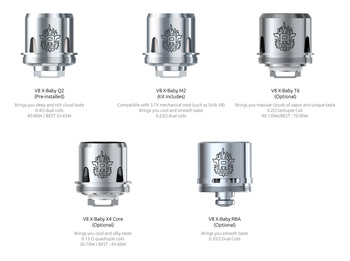 Wholesale 100% Authentic Smoktech TFV8 V8 X-Baby M2 Sub-Ohm Replacement Coils 3 Pack (0.25 OHMS) Wholesale Vapor Wholesale | KangerWholesaleUSA.com America's Premier E Cig and Vape Distributor | Lowest Priced E Cig Wholesaler in USA | Cheapest Vape Wholesale in USA | E Juice Wholesale | E Liquid Wholesale | E Juice | E Liquid | Vape Wholesale | Vapor Wholesale | E Cig Wholesale | Cheap Vape Kits | Vape Deals | Wholesale | Distributor | Vape USA | SMOK E Cig Wholesale | Smoktech TFV8 V8 X-Baby M2 Sub-Ohm Coils Wholesale | SMOK E Cig Cheap | SMOK Wholesale Vapes USA | SMOK Vapor | SMOK US | SMOK USA Wholesale | SMOKTECH | SZ SMOK Technology | SMOKTECH TECHNOLOGY