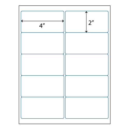 975 supply brand labels 10 up labels 4 x 2 10 labels per