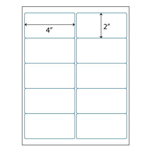 maco brand labels 10 up labels 4 x 2 10 labels per sheet