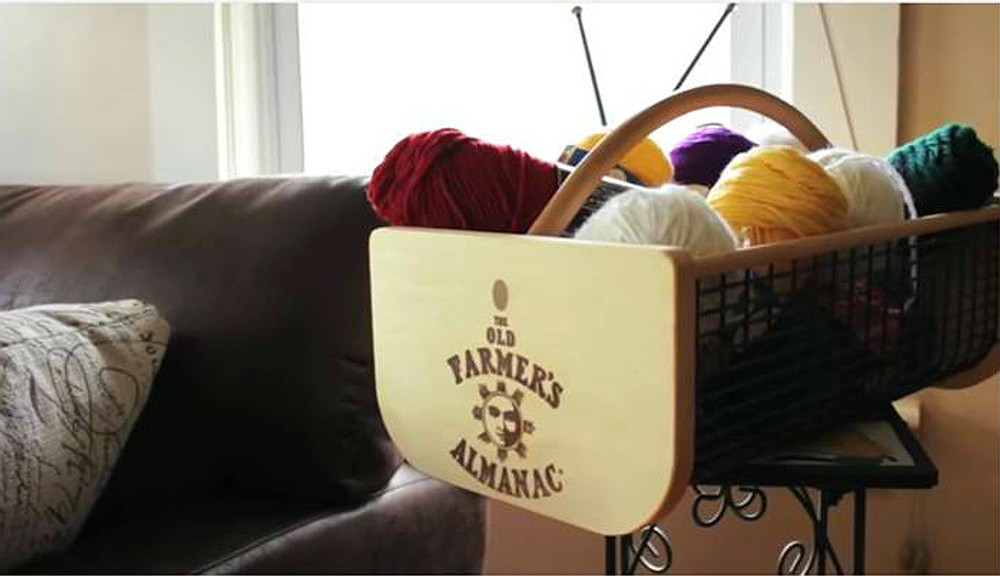 Hods to hold your knitting supplies
