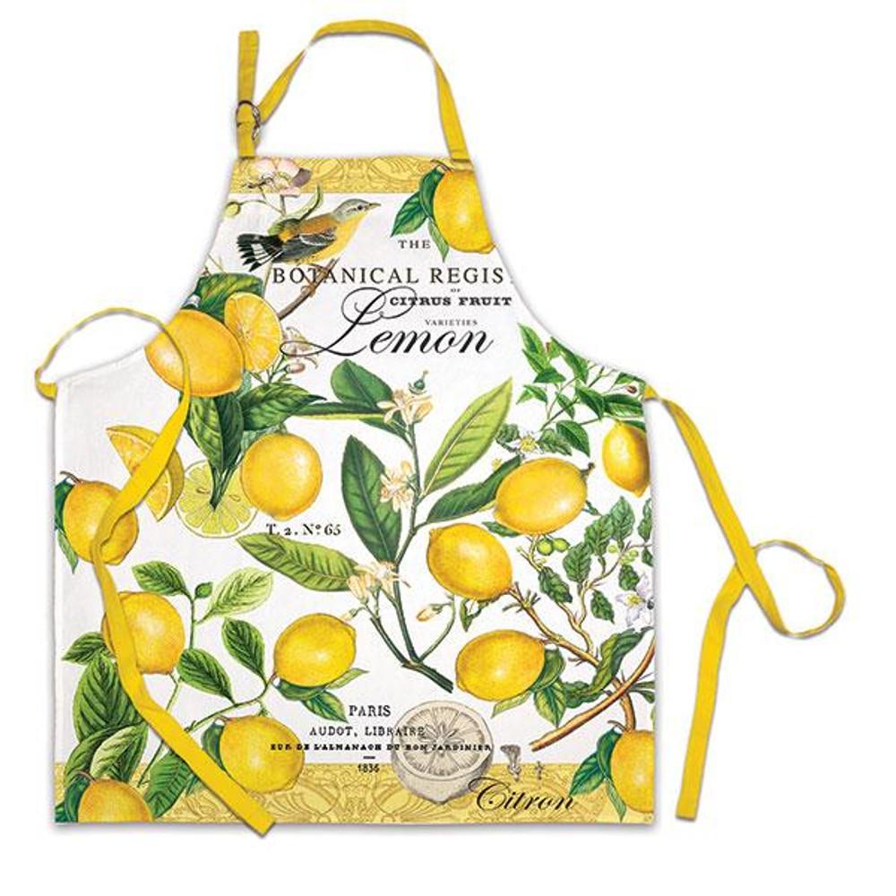 Lemon Basil Apron