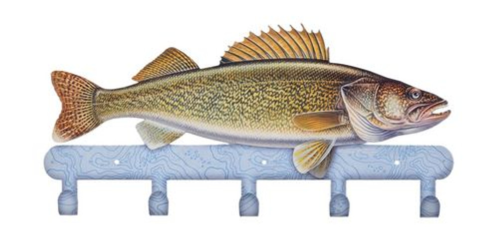 Coat Rack - Walleye