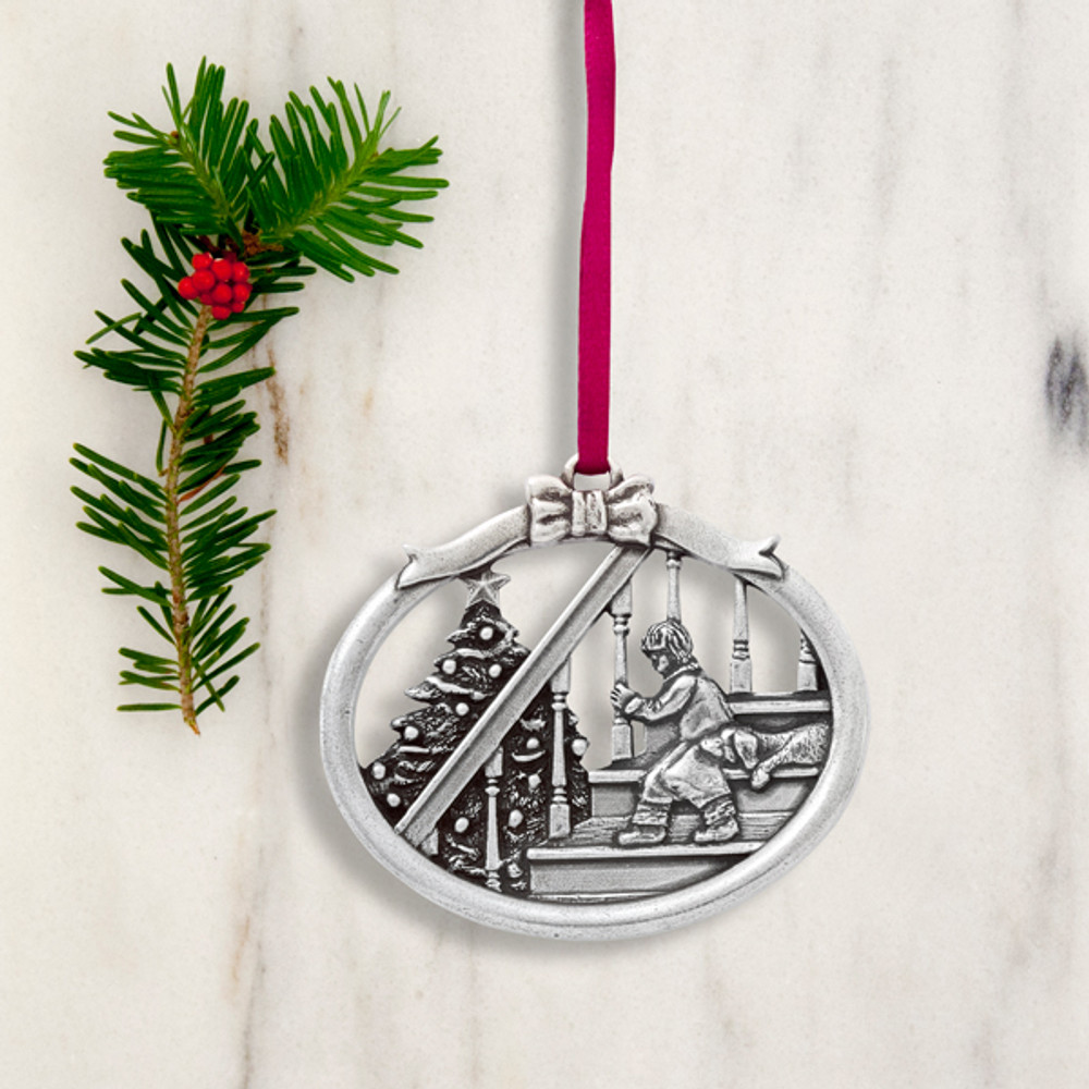 Magic of Christmas Pewter Annual Ornament - The Old Farmer ...