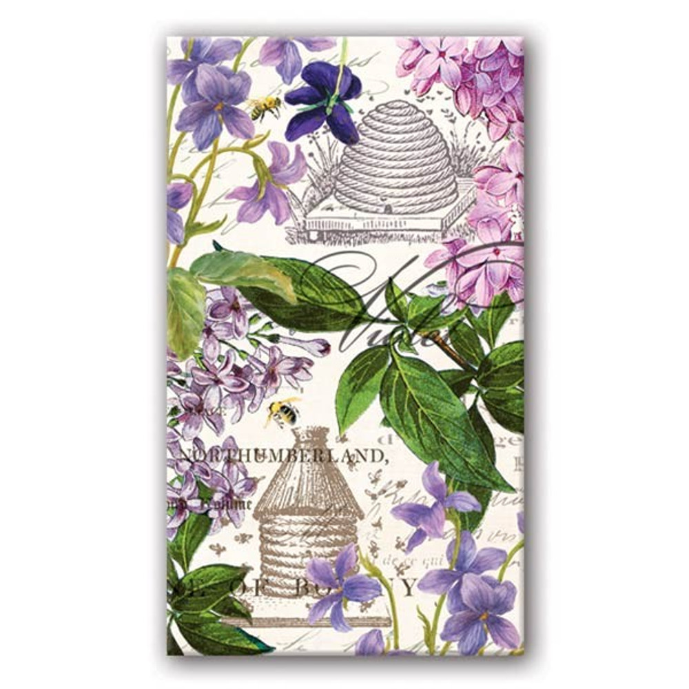 Lilac and Violets Matchbox