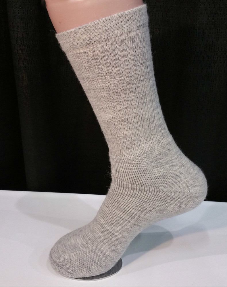Alpaca Sock, Casual, Gray