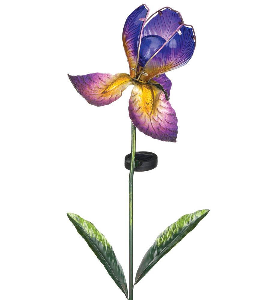 Solar Iris Stake - Purple