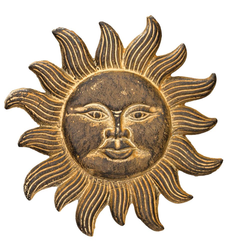 Vintage Cast Iron Sun 11 Inch