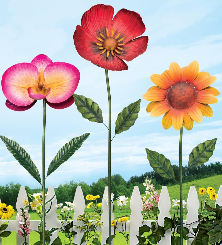 "36"" Flower Stake - Sunflower"