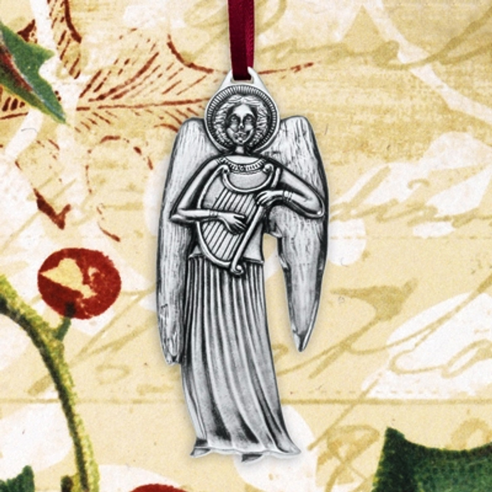 Angel Pewter Annual Ornament