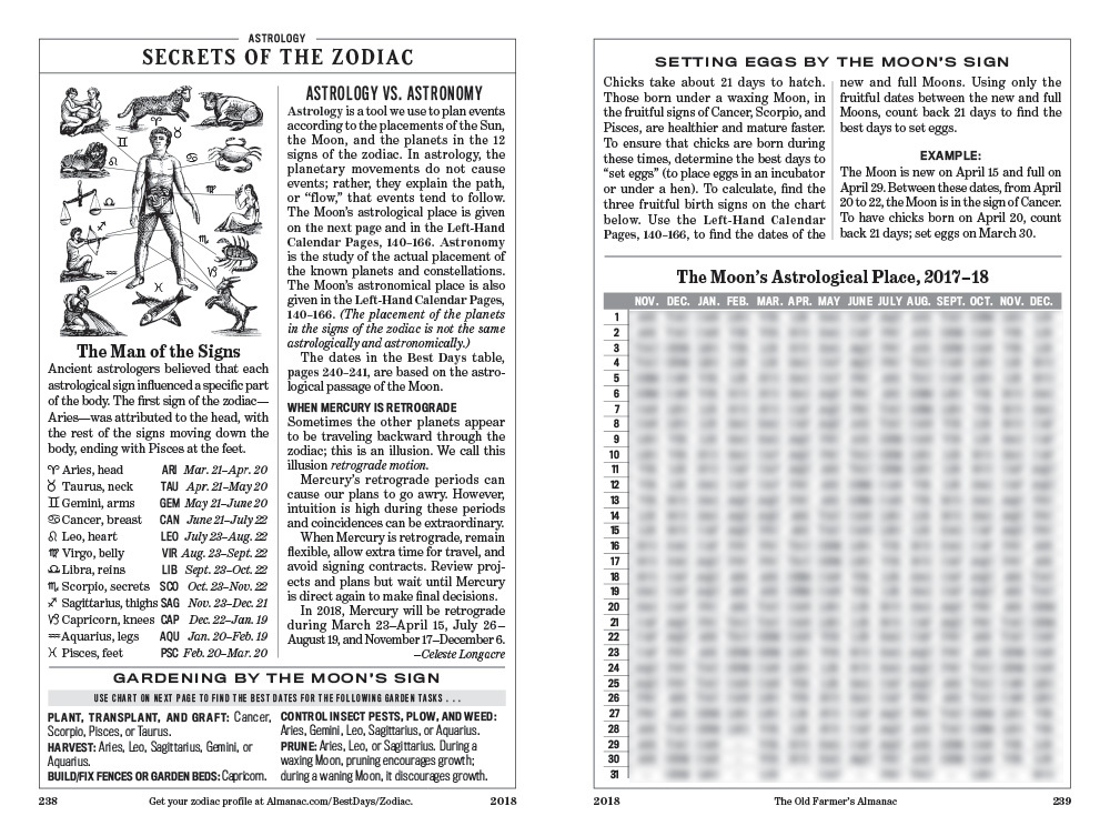 The 2018 old farmer 39 s almanac canadian edition the old - Old farmer s almanac garden planner ...