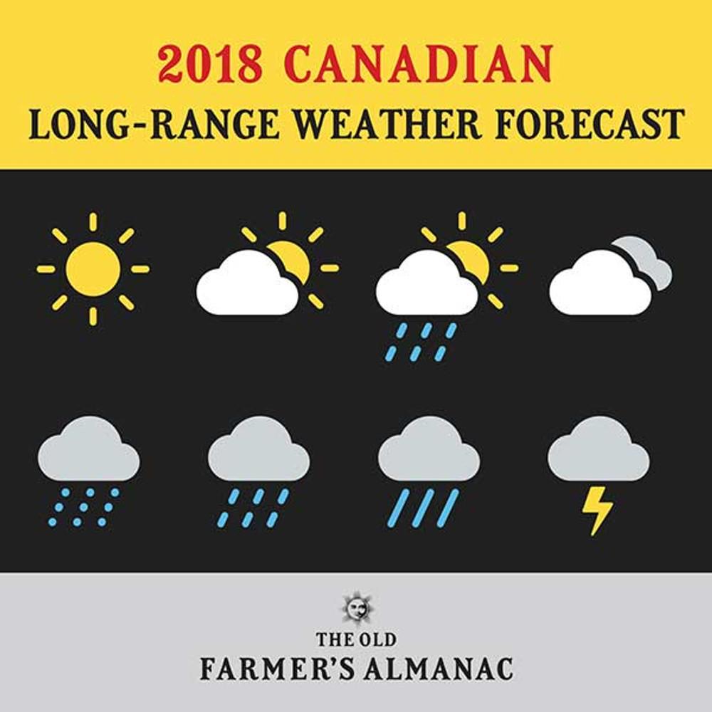 2018 Canadian Long-Range Weather Forecast