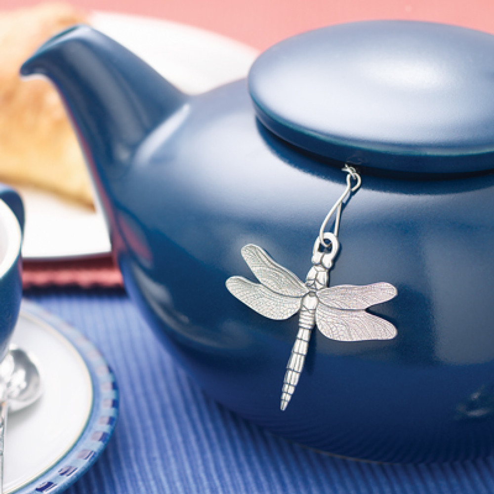 Pewter  Dragonfly Tea Infuser