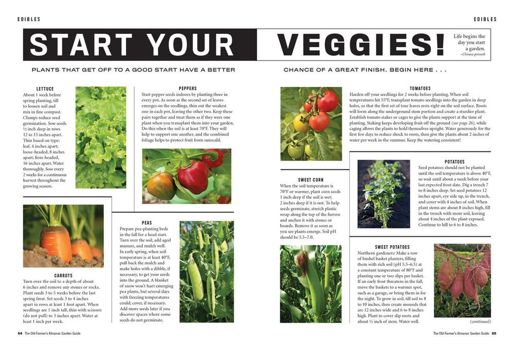 The Old Farmer's Almanac Garden Guide 2018 Online Edition