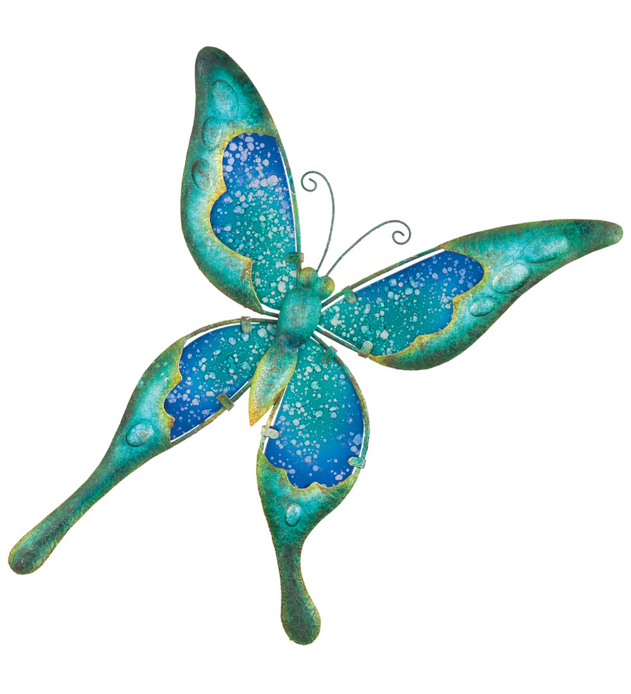 """Watercolor Wall Decor - Butterfly 15"""""""