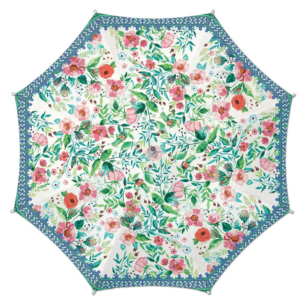 Umbrella with a Wild Berry Blossom design.