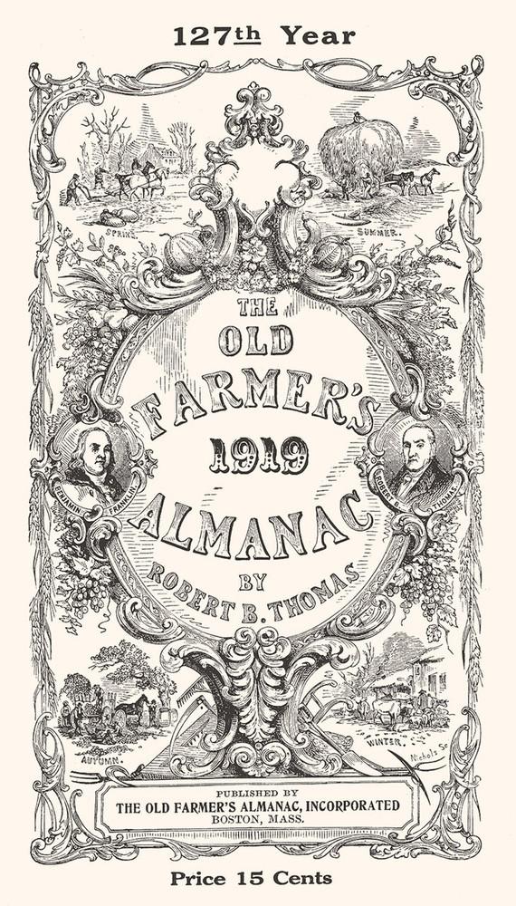Free 1919 Replica Almanac