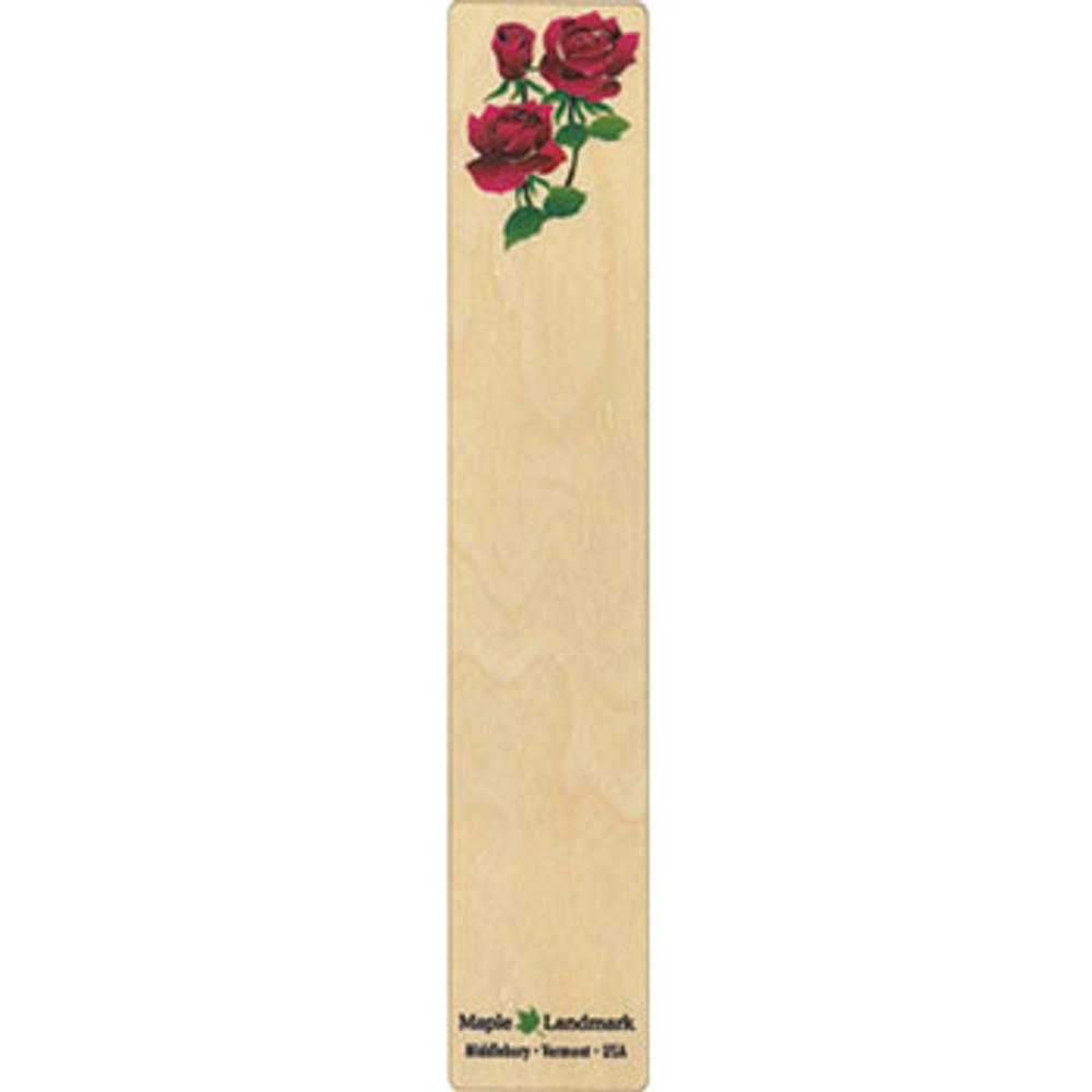 Rose Wooden Bookmark