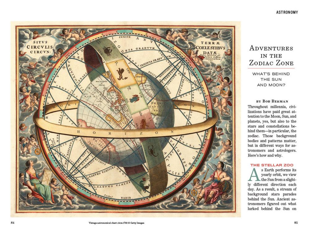 Interior Almanac Page Spread