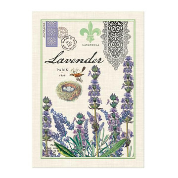 Lavender Rosemary Kitchen Towel