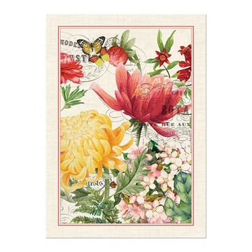 Morning Blossoms Kitchen Towel