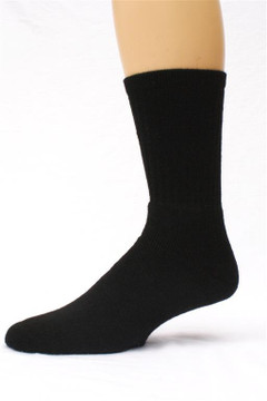 Alpaca Sock, Casual, Black