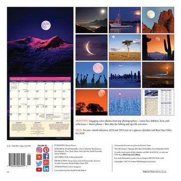 The 2018 Old Farmer's Almanac Moon Calendar