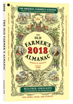 Old Farmer's Almanac 2018