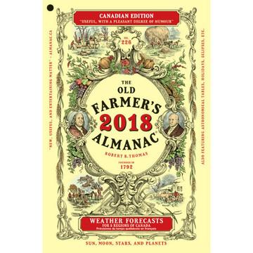 The 2018 old farmer 39 s almanac canadian edition the old for Farmers fishing almanac