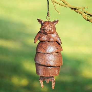 Chubby Pig Wind Chime