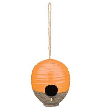 Ceramic Bird House - Beehive