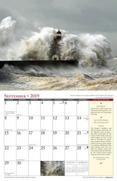 The 2019 Old Farmer's Almanac Weather Watcher's Calendar