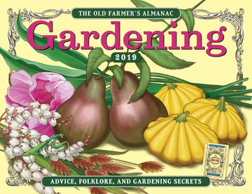 Free 2019 Almanac Gardening Wall Calendar